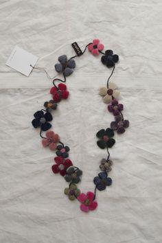 sophie digard flower necklace. via makieclothier.