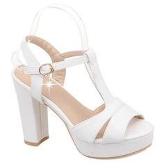 Graceful T-Strap and Chunky Heel Design Women's Sandals #>=#>=#>=#>=#> Click on the pin to check out discount price, color, size, shipping, etc. Save and like it!