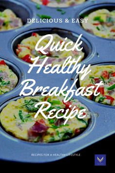 The best way to start the day is with an amazing breakfast. Breakfast means exactly that to break the overnight fast. Try this quick breakfast idea. Healthy Eating Habits, Healthy Lifestyle Tips, How To Cook Mushrooms, Quick Healthy Breakfast, Egg Muffins, Body Cleanse, Fat Burner, Nutrition Tips, Easy Healthy Recipes