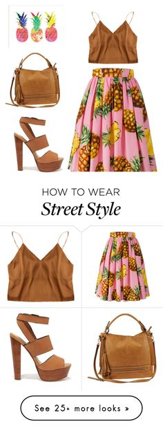 """""""Street Style"""" by marinamoncada on Polyvore featuring Dolce&Gabbana, Urban Expressions and Steve Madden"""