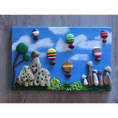 10 Diy Ideas Of Painted Rocks Ideas Pebble Painting, Pebble Art, Stone Painting, Stone Crafts, Rock Crafts, Arts And Crafts, Art For Kids, Crafts For Kids, Rock Sculpture