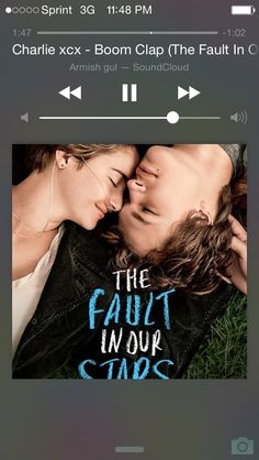 Finished the book, for the second time, just a few minutes ago. Now I have to watch the film again. I love this story so much. If you haven't seen it, please see TheFaultinourStars Love Movie, Movie Tv, Movie Photo, Tfios, Divergent Movie, Chick Flicks, Chef D Oeuvre, Fun Quizzes, Romance Movies