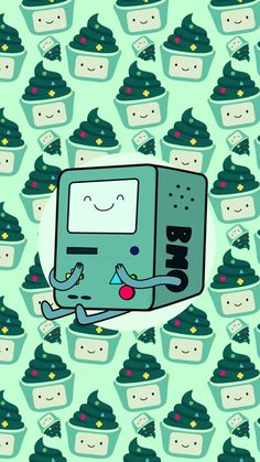 Bmo is so cute! You can use this and many others in my board 'Adventure Time Wallpaper' as phone wallpapers!