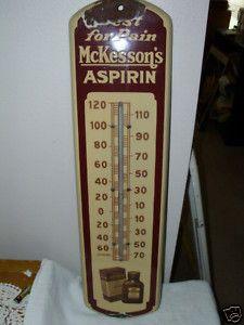 thermometer vintage sale porcelain