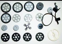 Lego technic mindstorms nxt pulley belt wheel bobbin string kids industrial skateboard room decor robotics project paper craft   See comments for eBay link