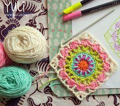 Ravelry: Mahala Mandala pattern by Yuli Nilssen