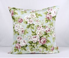 This is for one 16 inch x 16 inch Cheltenham Rose double sided cushion cover. This cushion cover comes in a Cheltenham fabric on both sides of the cushion cover. With an invisible zip which is at the bottom of the cushion cover, This give a stylish fi. Shabby Chic Style, Romantic Shabby Chic, Vintage Shabby Chic, Decorative Pillow Cases, Decorative Throw Pillows, Throw Pillow Covers, Pillow Shams, Clarke And Clarke Fabric, Bee Design
