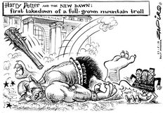 First Takedown A Cartoon, True Stories, Harry Potter, African, South Africa