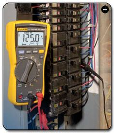 Fluke 115 True-RMS Digital Multimeter. The nicer of the two multimeters for the workshop. $135