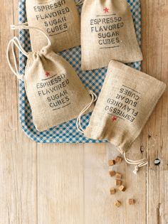 Espresso-Flavored Sugar Cubes _ From Country Living. Easy to make, great to give as gifts, & fun to use, these caffeine-spiked sugar cubes do it all. They are perfect to put in your morning coffee, or in place of plain sugar in a rich mug of cocoa. Best Food Gifts, Homemade Food Gifts, Edible Gifts, Diy Gifts, Christmas Food Gifts, Homemade Christmas, Christmas Ideas, Christmas Goodies, Christmas Holiday
