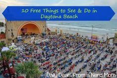 10 Free Things to See & Do in Daytona Beach