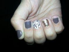 Fall nail design