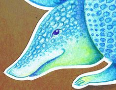 """Check out new work on my @Behance portfolio: """"Armadillo"""" http://be.net/gallery/30219589/Armadillo"""