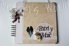 Libro de firmas de boda para Patri y Marc