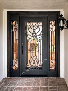 😎😎😎 Universal Iron Doors will help you express your style! -- ☎️☎️☎️ Call 877-205-9418 for Orders and Inquiries 💰💰💰 Ask us about our EXCEPTIONAL OFFERS 🆓🆓🆓 Take advantage of FREE CONSULTATION and FREE DESIGN ⚠️⚠️⚠️ About this Beautiful IRON DOOR: Custom Single Iron Door w/ Sidelights, Right-Hand in-swing, Medium Copper Finish, Reflective Glass. -- #irondoor #iwantthatdoor #wroughtirondoor #universalirondoors #ironfrontdoor #irondoorsnearme #irondoorcompany #cheapirondoor Iron Front Door, Wrought Iron Doors, Free Design, This Is Us, Copper, Medium, Glass, Beautiful, Home Decor