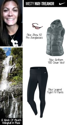 Volleyball Player @Misty Schroeder Schroeder May-Treanor shared her holiday wishlist with us! #gear #teamnike #athlete #nike