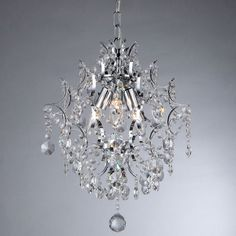 3-light Crystal Pendant - Overstock™ Shopping - Great Deals on Warehouse of Tiffany Chandeliers & Pendants