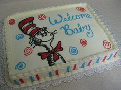 Cat in Hat cake by Cake Creations by Shelly, via Flickr