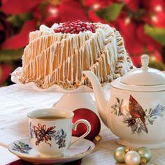 Vanilla-Coconut Pound Cake