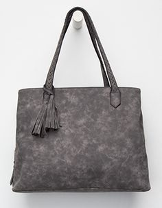 47e28c62fd14 VIOLET RAY Carter Tote Bag Grey Cute Tote Bags