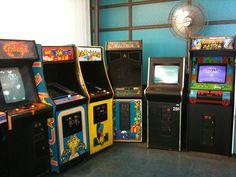 Joe's Playland 2 by CopHeaven, via Flickr #arcade #games #retroarcade #pacman