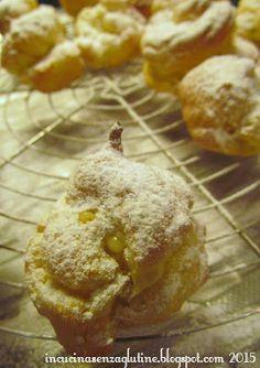 In cucina senza glutine ricette e cucina per celiaci: Non c'è spiga che tenga: i bignè