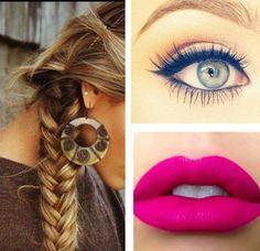 Super na Moda: Hair & Make do Dia ♡