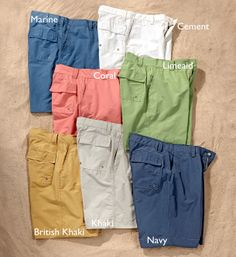 Antique Madras shorts...can't beat madras for summer! Love these ...