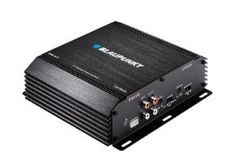 Blaupunkt EMA 255 330-Watt 2-Channel Amplifier by Blaupunkt. $83.41. 330 watt 2 channel amplifier, 2 x 55 watts RMS or 2 x 110 watts Peak power, 1 x 165 watts RMS or 1 x 330 watts Peak power, includes on-board udjustable low pass crossover and fixed high pass crossover, up to +12db of bass boost at 45 Hz, accepts RCA line level and high level (speaker) inputs, dimensions 7.25-Inch x 2.1-Inch x 7.2""