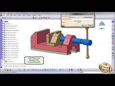 Creating mechanism in CATIA V5 - YouTube