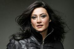 Natalie J. Robb (b.1974 Bellshill). Actor famous for roles in Taggart, High Road, The Bill, Doctors and Emmerdale.
