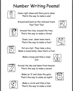 Number writing poems                                                                                                                                                     More