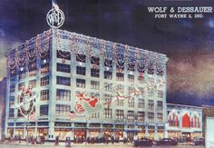 The old Wolf & Dessauer Department store