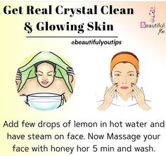 Clear Skin Face, Clear Skin Tips, Face Skin Care, Good Skin Tips, Beauty Tips For Glowing Skin, Health And Beauty Tips, Beauty Skin, Healthy Skin Tips, Skin Care Routine Steps