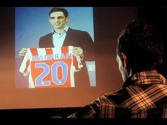 Juanfran fue el protagonista de la primera entrega de 'ATMFLASHBACK' el día en que se inauguró la Eurocopa 2012. El lateral repasó su trayectoria con algunas imágenes clave de su vida (08/06/2012).