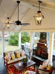 small outdoor ceiling fans ideas for small front yards