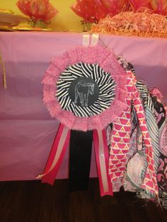 Horse Party Award Ribbon Table Decoration