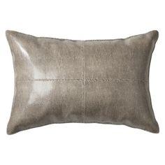 Nate Berkus Snakeskin Decorative Pillow - Brown