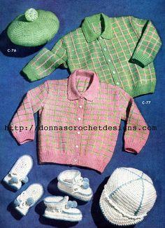 The Vintage Pattern Files: Donnas Crochet Designs