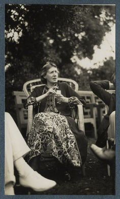Virginia Woolf (née Stephen), by Lady Ottoline Morrell, June 1926 - NPG  - © National Portrait Gallery, London