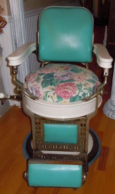 Find this Pin and more on VINTAGE BARBER CHAIRS.