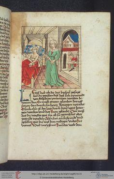 Cod. Pal. germ. 85: Antonius von Pforr: Buch der Beispiele (Schwaben, um 1480/1490), Fol 63r