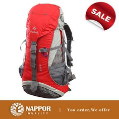 NEW 36L RED HIKING OUTDOOR CAMPING TRAVEL HOLIDAY CLIMBING BAG BACKPACK RUCKSACK  Nappor
