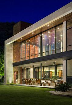 Casa SAC I - modern - exterior - other metro - Pozas Arquitectos