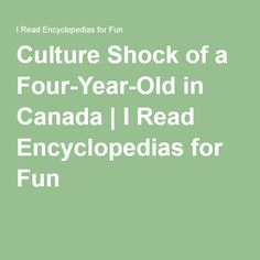 Culture Shock of a Four-Year-Old in Canada Backpacking Canada, Canada Travel, Padi Diving, Scuba Diving, Canada Holiday, Diving Course, Visit Canada, Culture Shock