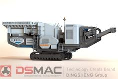 With the development of energy conservation and environmental protection work, everywhere has an increasing demand for the new type of environmental protection equipment. As the new kind of environmental crusher equipment, mobile crushing station has been widely used all over our country. The appearance of mobile crushing station has made great contribution to the promotion of circular economy.