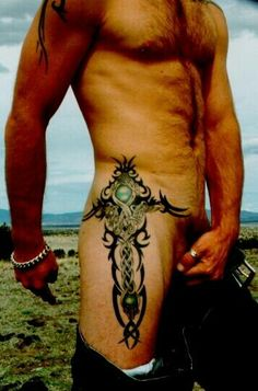 Love this tattoo. Might use it in my series...