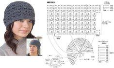 Delicadezas en crochet Gabriela: 2 Modelos de cap para damas en ganchillo