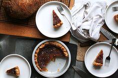 Salted honey pie – via Lottie + Doof