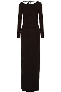 RACHEL ZOE Fannie ruched jersey gown. #rachelzoe #cloth #gown